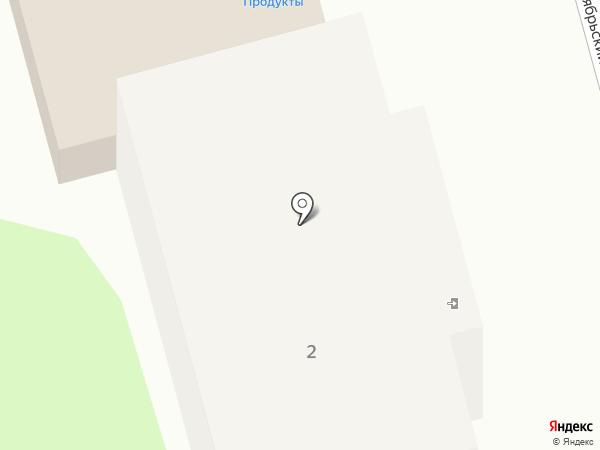 Хлебный посад на карте Донского