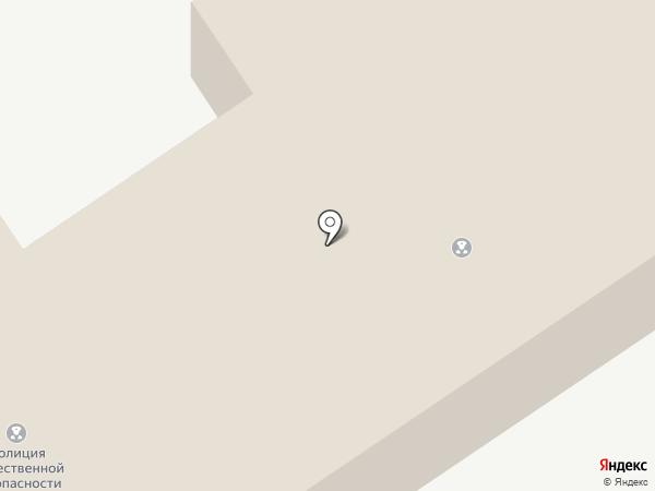 Отдел осуществления воинского учета на карте Донского