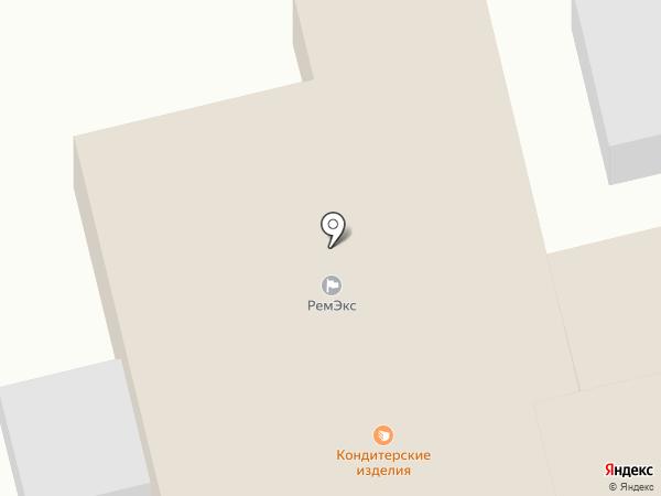Магазин автотоваров на карте Донского