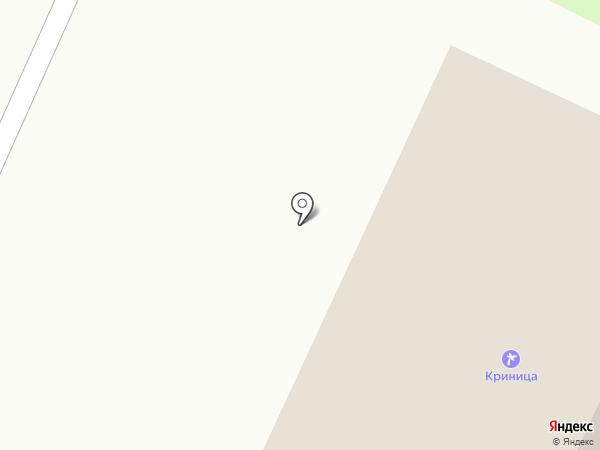 Криница на карте Геленджика