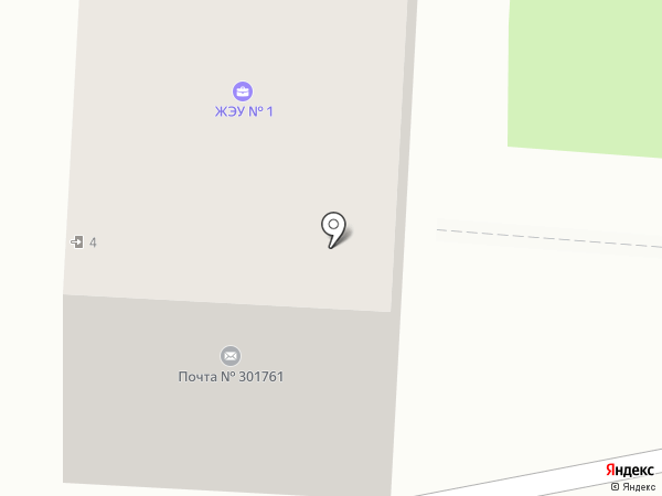 ЖЭУ №1 на карте Донского