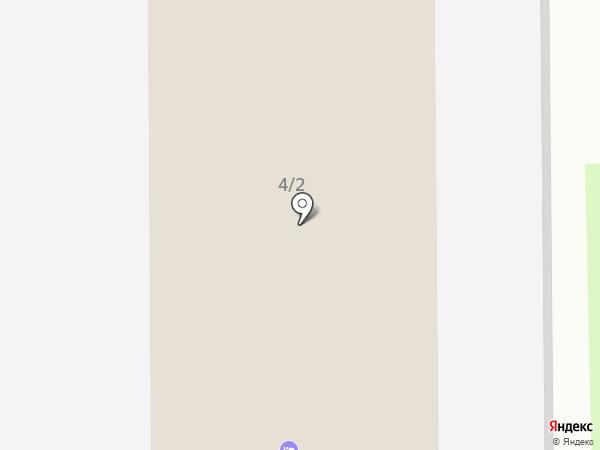 Общежитие на карте Донского