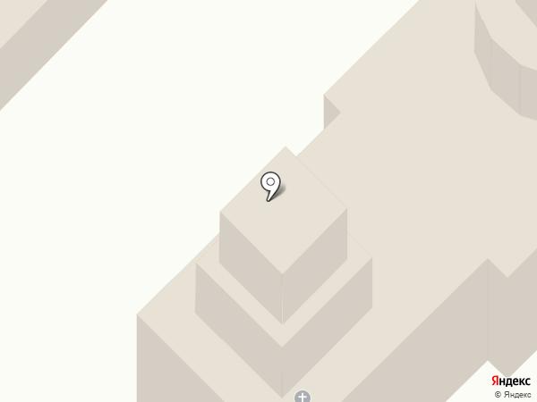 Храм Преображения Господня на карте Донского