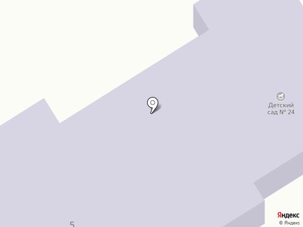 Детский сад №24 на карте Донского