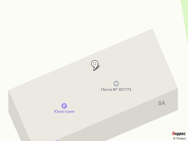 Задонский на карте Донского