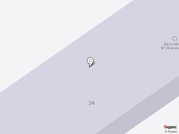 Детский сад №28 на карте Донского