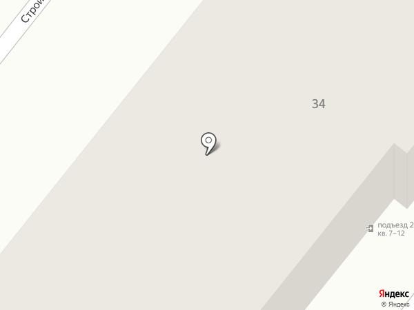 Магазин хозяйственных товаров на Строительной на карте Донского