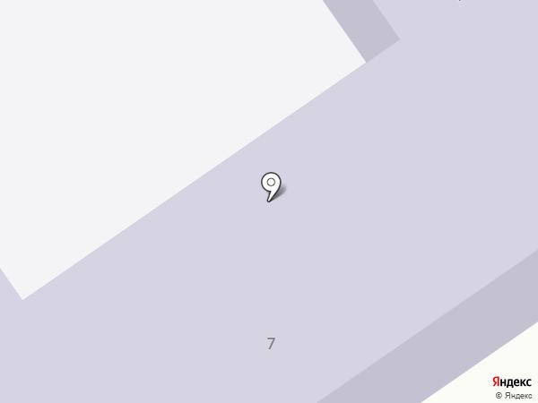 Средняя общеобразовательная школа №4 на карте Донского