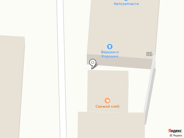Магазин автозапчастей на карте Новомосковска