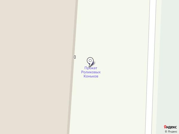 Шахтер на карте Новомосковска