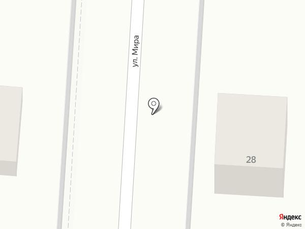 Почтовое отделение №265 на карте Черноморского