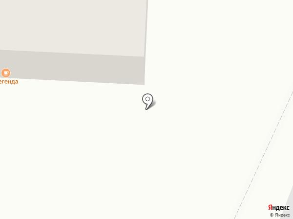 Краснодарский чай на карте Геленджика