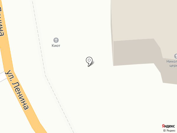 Храм святого Николая Чудотворца на карте Геленджика