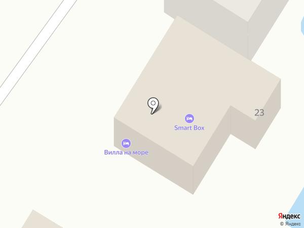 villanamore.club на карте Геленджика