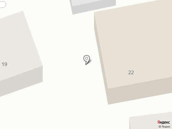 Серебристая чайка на карте Геленджика