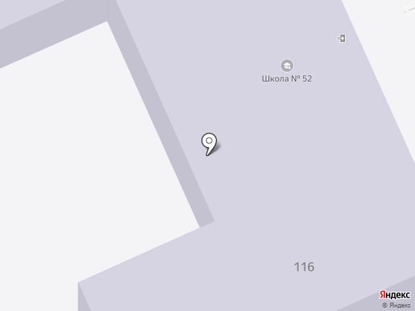 Средняя общеобразовательная школа №52 на карте Ильского