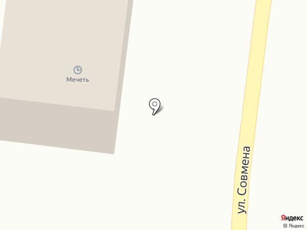 Мечеть на карте Афипсипа