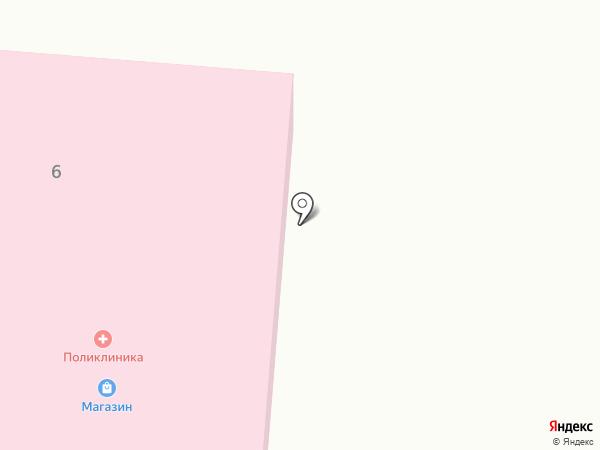 Афипсипская муниципальная участковая больница на карте Афипсипа