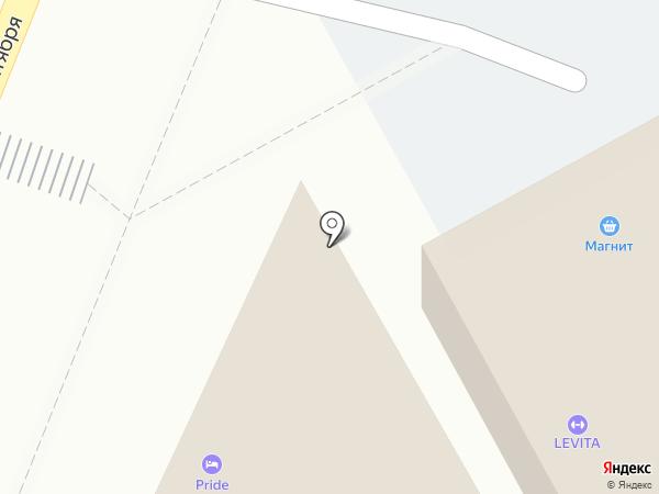 Прайд на карте Краснодара