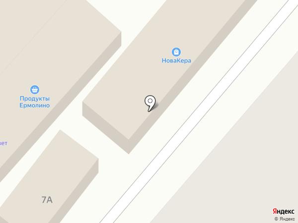 Магазин женской одежды на карте Энема