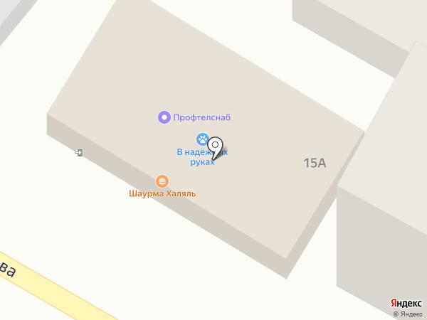 Халяль-кафе на карте Энема