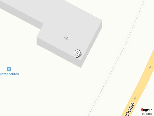База стройматериалов на карте Энема