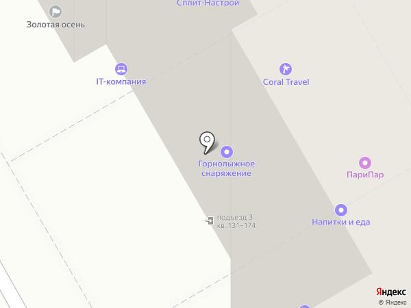 Планар на карте Краснодара