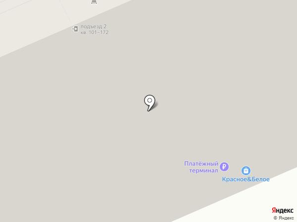 Домашняя на карте Краснодара
