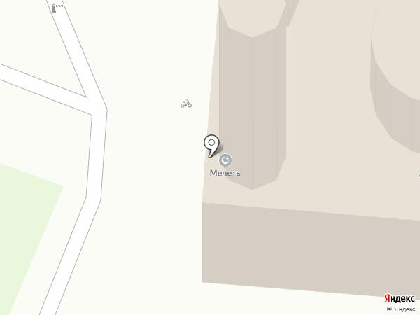 Мечеть на карте Энема