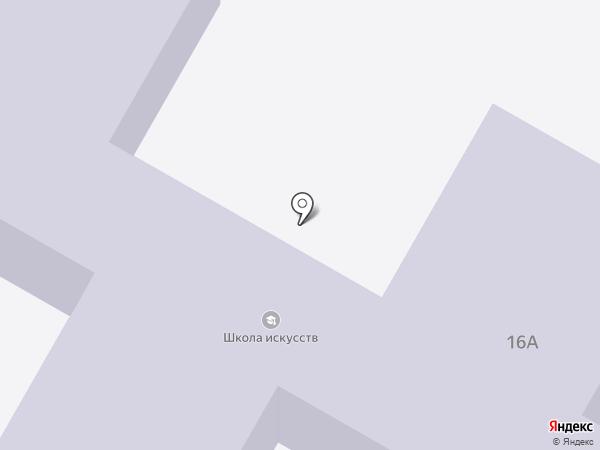 Энемская детская школа искусств на карте Энема