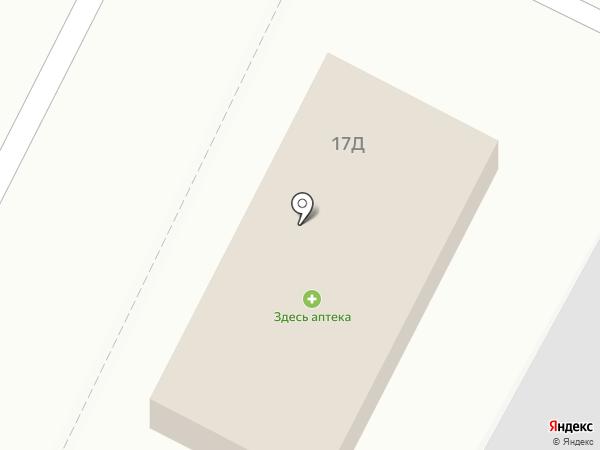Хлебник на карте Энема