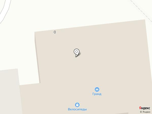 Магазин велосипедов на карте Куровского