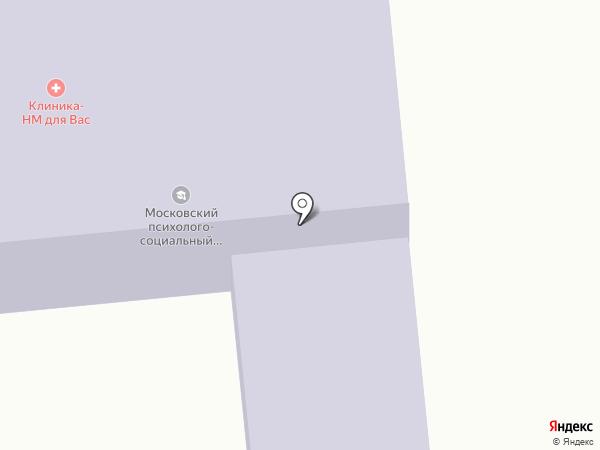 Московский психолого-социальный университет на карте Куровского