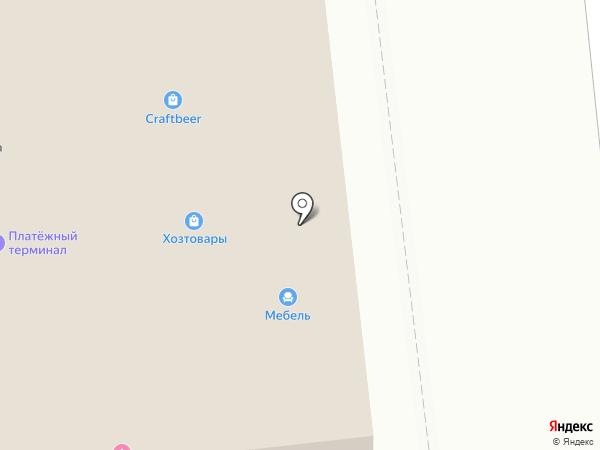 Магазин хозяйственных товаров на карте Куровского