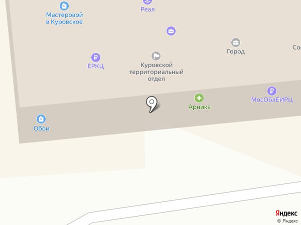 Магазин смешанных товаров на карте Куровского