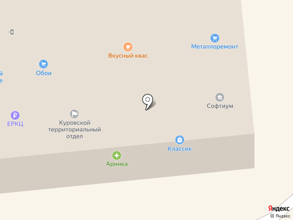 КМСИ на карте Куровского