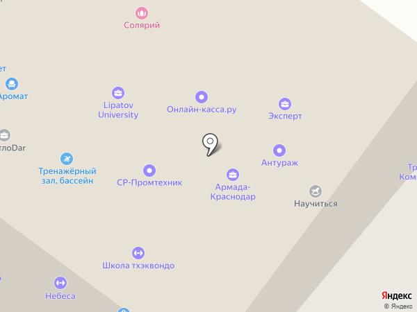 Оптово-розничная фирма на карте Краснодара