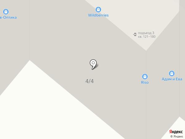 Продуктовый магазин на карте Краснодара