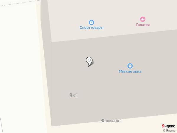 Галлатэя на карте Куровского