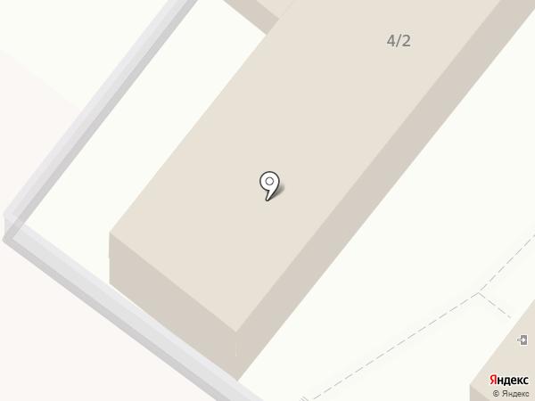 Пирогово на карте Краснодара