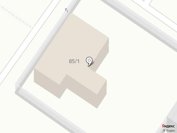 Автополис на карте Краснодара