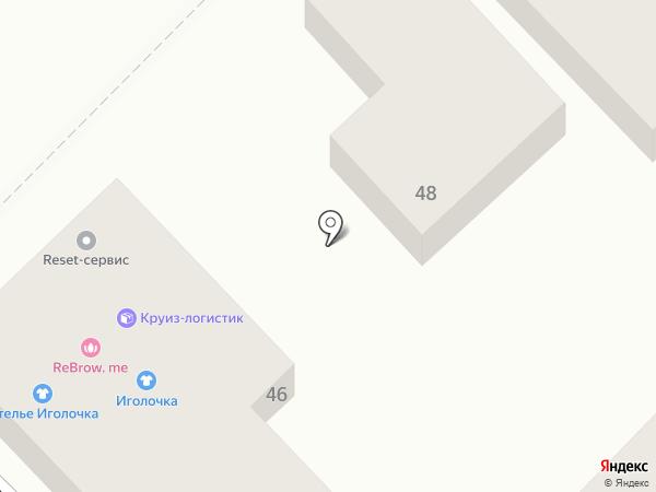 Дот-Пицца на карте Краснодара