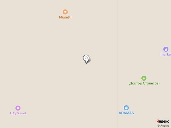 Техноблок на карте Краснодара