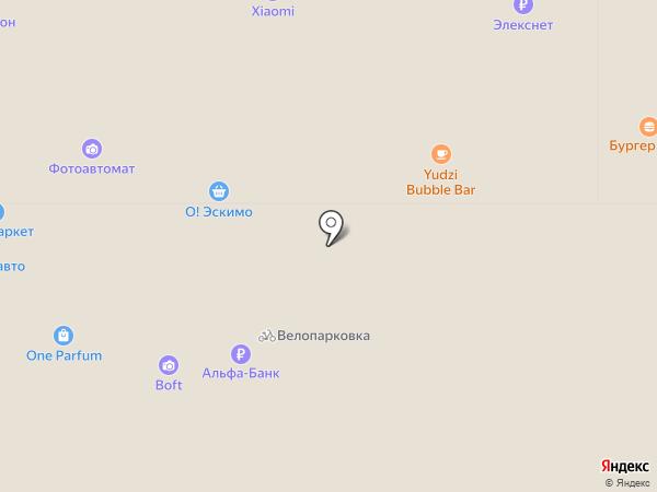 Yota на карте Краснодара