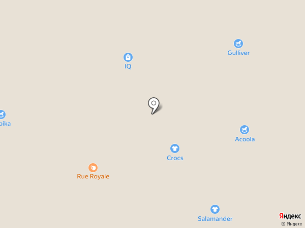 Андерсен на карте Краснодара