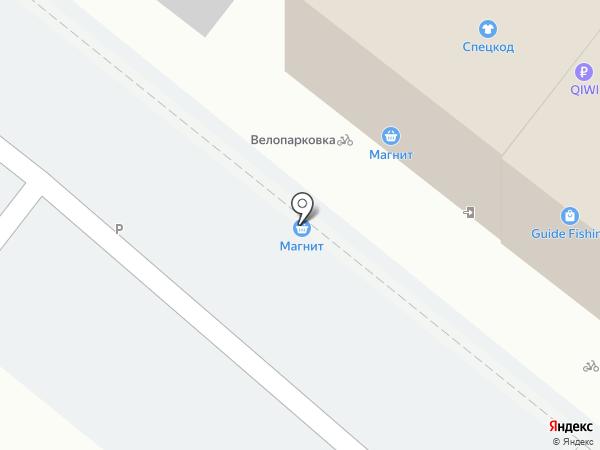 СпецКод на карте Краснодара