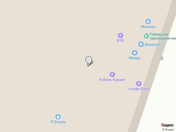 Elis на карте Краснодара