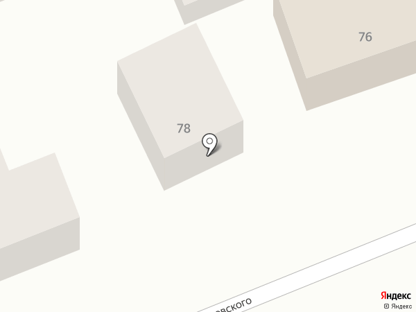 Комфорт на карте Яблоновского