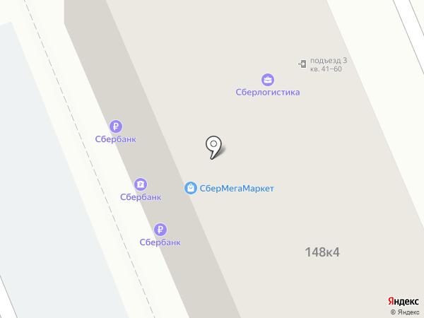 Банкомат, Сбербанк, ПАО на карте Яблоновского