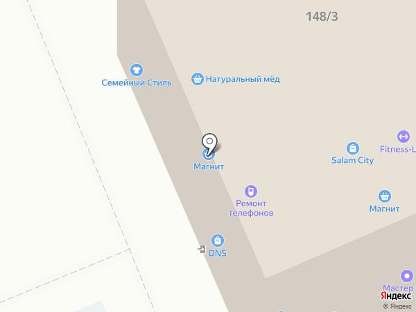 ЛОГРО на карте Яблоновского